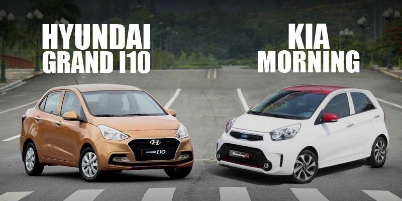 Kia Morning và Hyundai i10